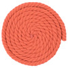1/2 Inch Twisted Cotton Rope - Orange