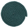 1/2 Inch Twisted Cotton Rope - Dark Green