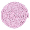 1/2 Inch Twisted Cotton Rope - Pink