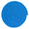 1/4 Inch Twisted Cotton Rope - Light Blue