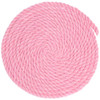 1/4 Inch Twisted Cotton Rope - Pink