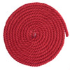 1/4 Inch Twisted Cotton Rope - Red