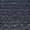 3-Strand Twisted Cotton 1/2 in Rope - Black Sparkle