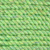3-Strand Twisted Cotton 1/2 in Rope - Lime Sparkle