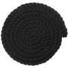 3/4 Twisted Cotton Rope - Black