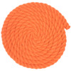 3/4 Twisted Cotton Rope - Orange