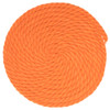 3/8 inch Twisted Cotton Rope - Orange