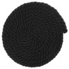 5/8 inch Twisted Cotton Rope - Black