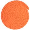 5/8 inch Twisted Cotton Rope - Orange