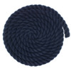 1 inch Twisted Cotton Rope - Navy