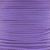 Acid Purple with Silver Gray Diamond - 550 Paracord - 100 Feet