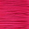 Neon Pink with Black X 1/8 inch Shock Cord - Spools
