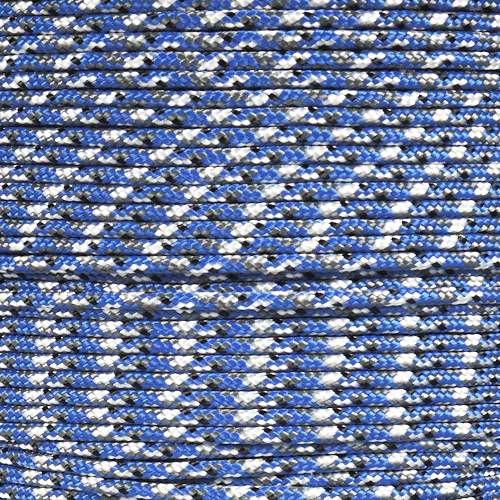 Blue Camo 425 Paracord (3-Strand) - Spools