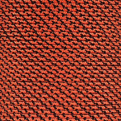Neon Orange Camo 425 Paracord (3-Strand) - Spools