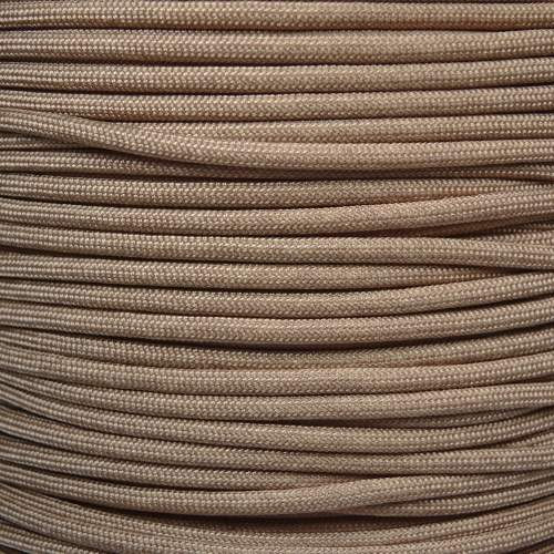 Desert Tan MIL-C-5040H 550 Military Spec Paracord - Spools