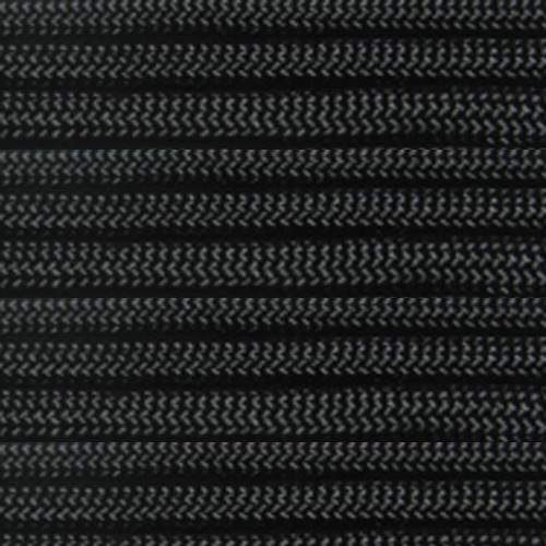 Black 550 Outdoor Cord with Jute Twine - Spools