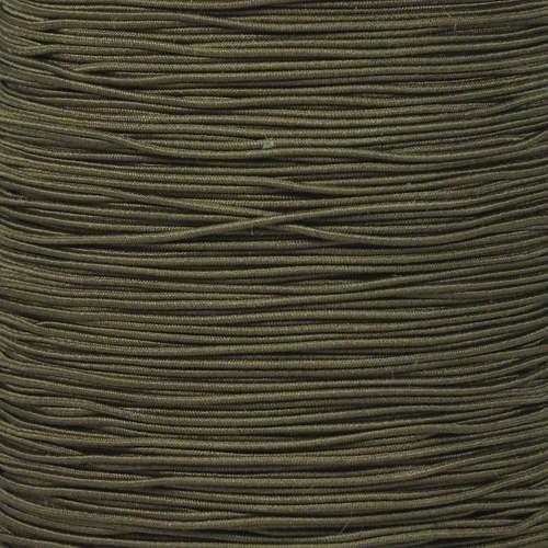 """Camo Green 1/32"""" Elastic Cord - Spools"""