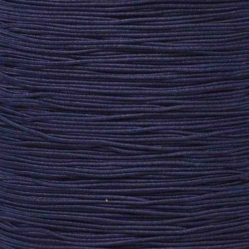 "Federal Standard Navy Blue 1/32"" Elastic Cord - Spools"