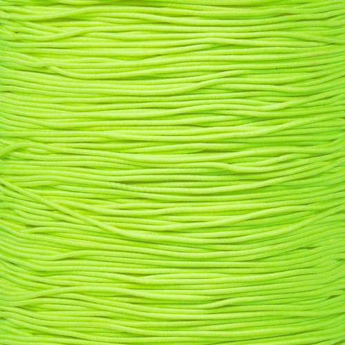 "Neon Yellow 1/32"" Elastic Cord - 1300 FT"
