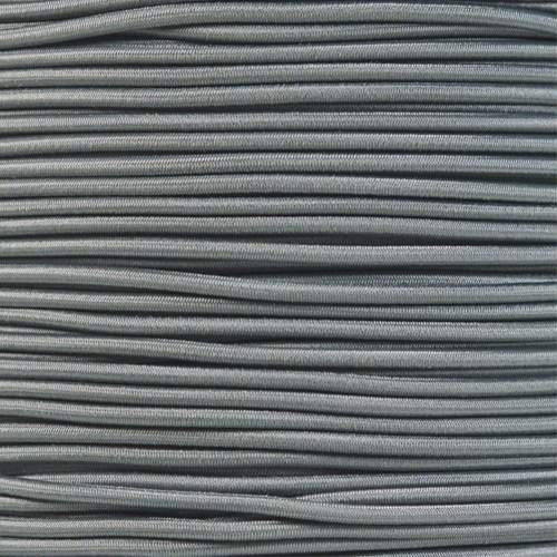 "Charcoal Gray 1/8"" Shock Cord - Spools"