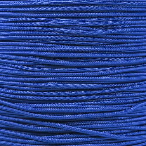 "Electric Blue 1/8"" Shock Cord - Spools"