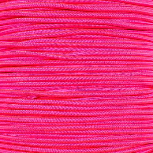 "Neon Pink 1/8"" Shock Cord - Spools"