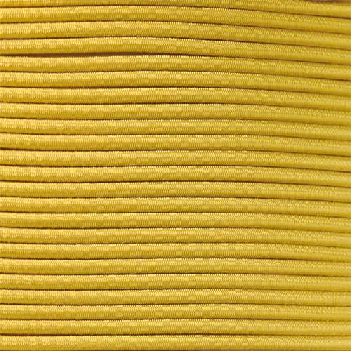 "Yellow 1/8"" Shock Cord - Spools"
