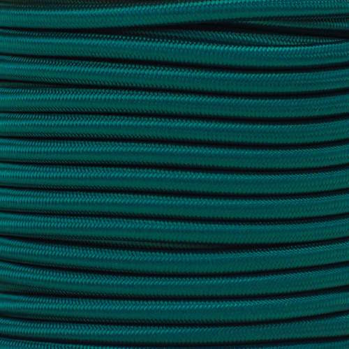 "Dark Green Bungee Shock Stretch Cord 1/4"" Diameter"