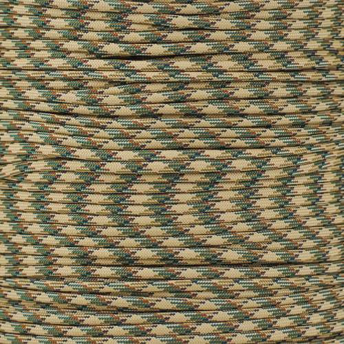 Canyon Camo - 550 Paracord (Spools)