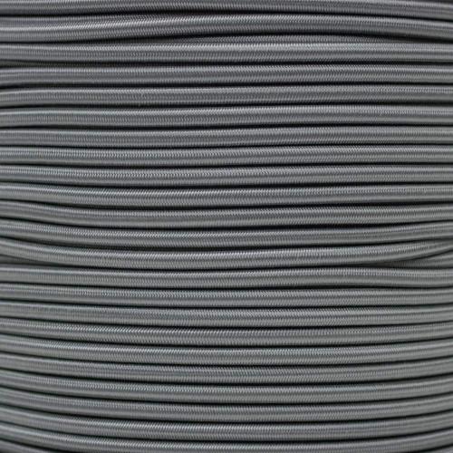 "Charcoal Gray - 3/16"" Shock Cord"