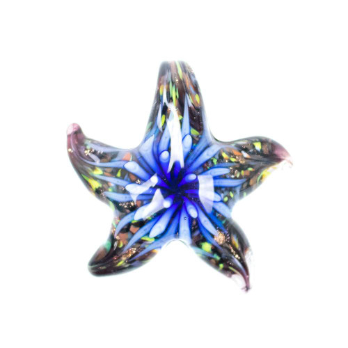 Glass Starfish Pendant - Osiris