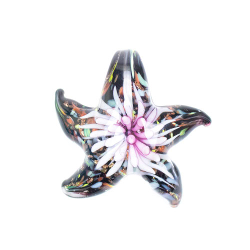 Glass Starfish Pendant - Plumose