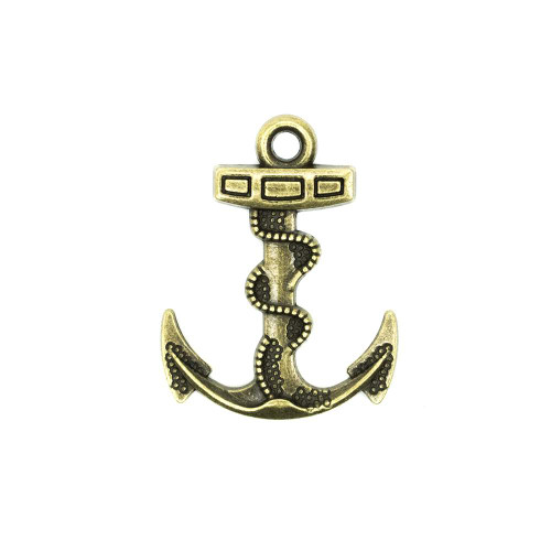 Anchor Hook Accent - Gold