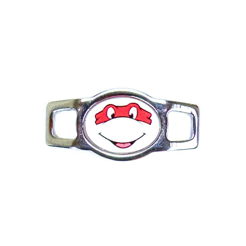 Random Oval Charm - Ninja Turtle (Red)