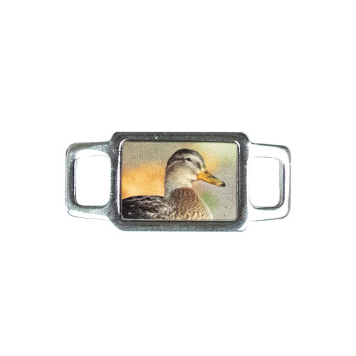 Rectangle Animal Charm - Duck