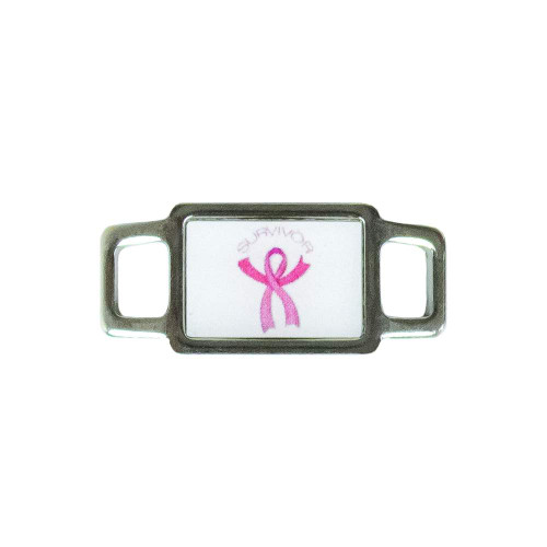 Awareness Rectangle Charm - Survivor