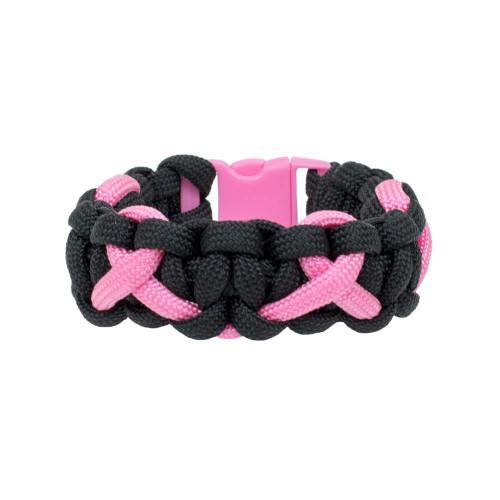 Breast Cancer Awareness - Multi-Ribbon Cobra Bracelet
