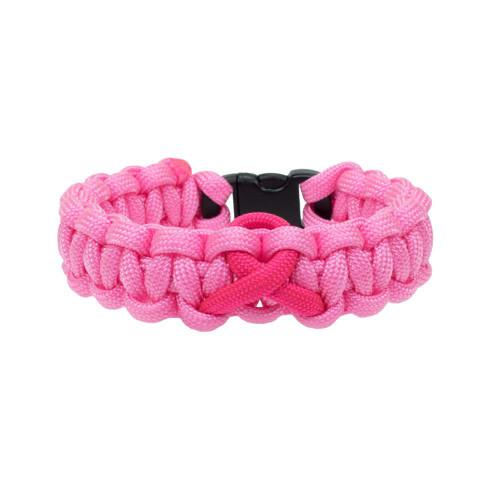 Breast Cancer Awareness - Single Ribbon Bracelet