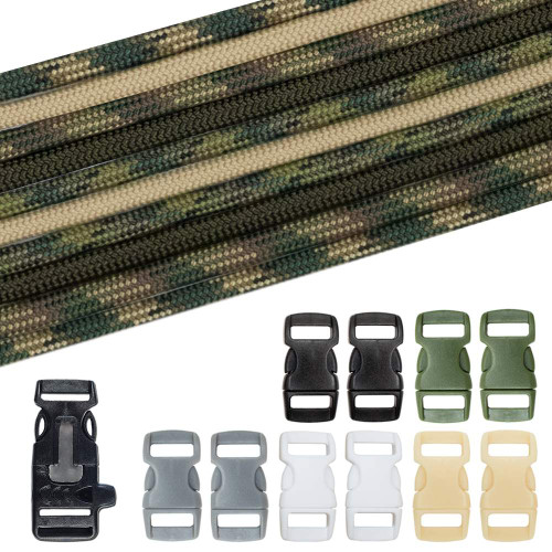 Military & Veterans Causes Paracord Crafting Kit #5