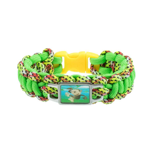 Kids Bracelet - Cobra with Monkey Charm