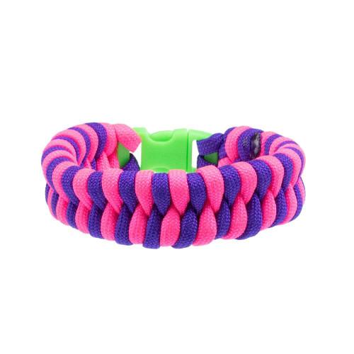 Kids Bracelet - Pink & Purple Fishtail