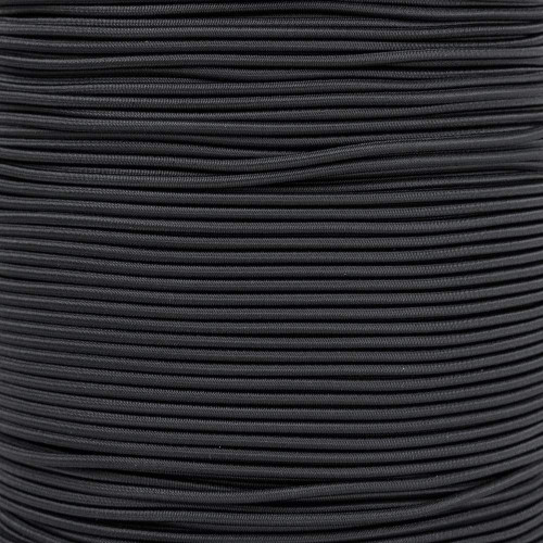 2.5mm Shock Cord Spools - Black