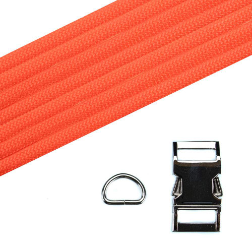 Dog Collar Kit - Neon Orange