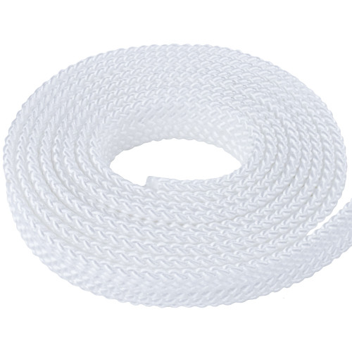 PolyPro 1in Flat Braid Rope - White