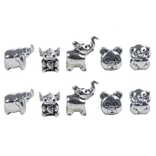 10 Pack Miscellaneous Beads - Animals