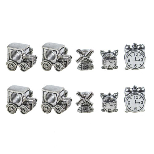 10 Pack Miscellaneous Beads - Roadtrip