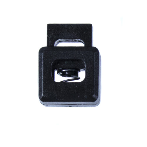 Cube Shape Cord Lock - Black