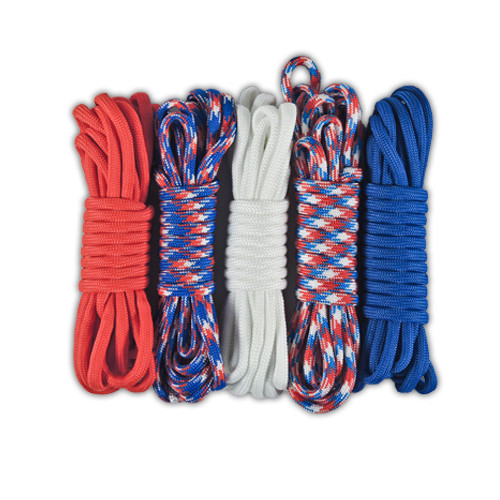 Combo Kit 50' 550 Paracord - America