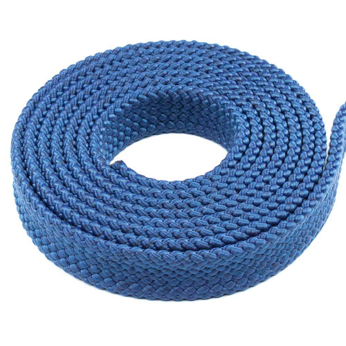PolyPro 1in Flat Braid Rope - Navy Blue