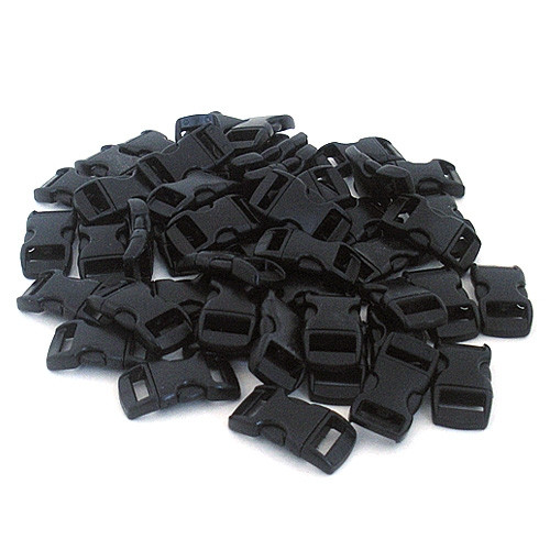 20 Pack of 3/8 Inch Contoured Side-Release Buckles